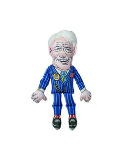Fuzzu Presidential Parody Dog Or Cat Toy, Gato, Bill Clinton