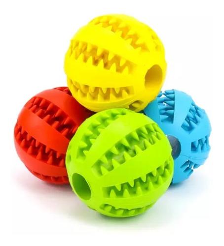 Imagen 1 de 5 de Portu Pets Play & Brush Pelota Dental Para Perros Médium 6cm