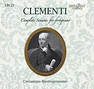 Clementi: Complete Sonatas For Fortepiano 18 Cds