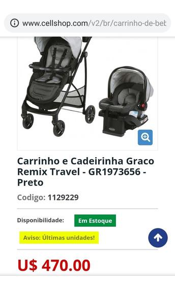 Carrinho De Bebê Graco Click