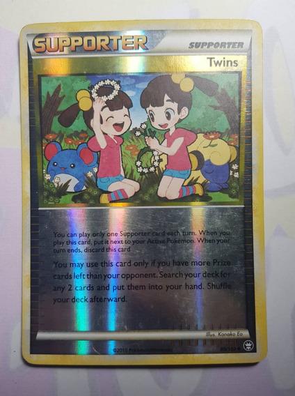 Carta Pokémon Tcg Item Twins Holofoil Ingles - Original