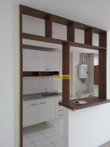 Apartamento Com 2 Dormitórios À Venda, 64 M² Por R$ 350.000 - Jardim - Santo André/sp - Ap1829