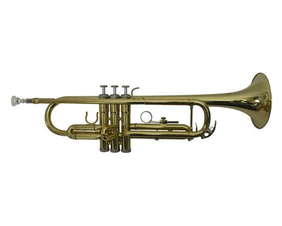 Trompeta Semiprofesional Con Estuche Rigido Orich De Paquete
