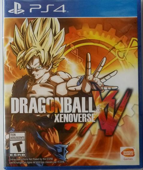 Ps4 Dragon Ball Xenoverse Xv , Mídia Fisica Lacrado