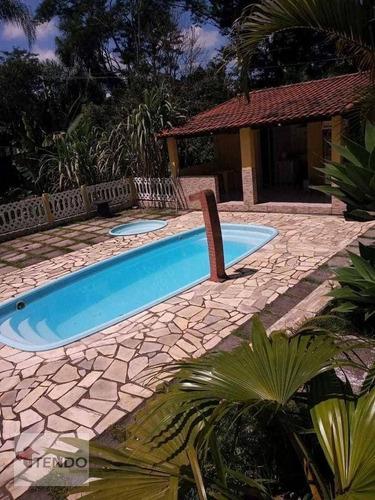 Imagem 1 de 15 de Imob03 - Chácara 6700 M² - Venda - 4 Dormitórios - Jardim Nova Ipelândia - Suzano/sp - Ch0090