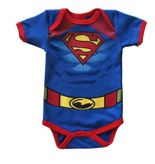 Pañalero Original Superman Musculos Dc Comics 30511