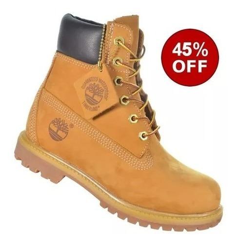Bota Timberland Yellow Boot 6 Premium Original Frete Gratis