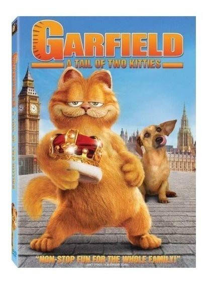 Garfield 2 Dos 2006 Adrian Uribe Pelicula Dvd