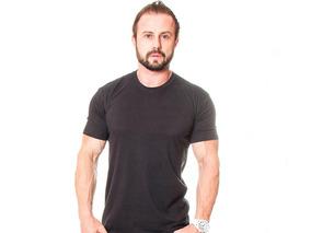 Camisa Lisa Malha 100% Algodão Atacado Todas As Cores Kit 10