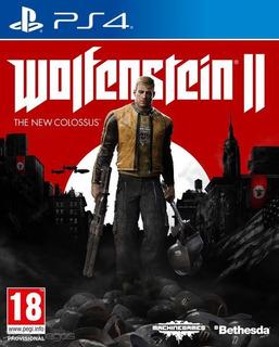 Wolfenstein 2 Ps4 Físico Sellado