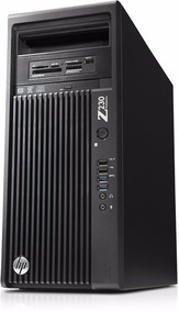 Computador/servidor Hp Z230 Completo + Monitor L.g. 21,5