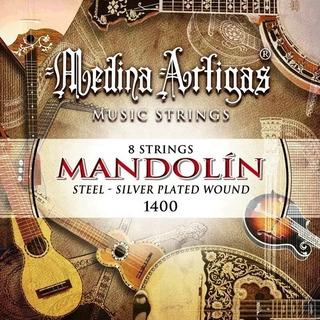 Set Encordado Mandolina Medina Artigas 8 Cuerdas