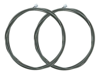 Kit X 2 Cable Cambios Shimano Optislick Mtb Ruta Original