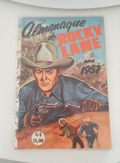 Almanaque Do Rocky Lane 1957