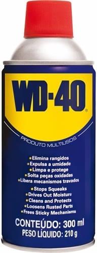 Kit 10 Wd40-óleo Desengripante,lubrificante 300ml Aerosol