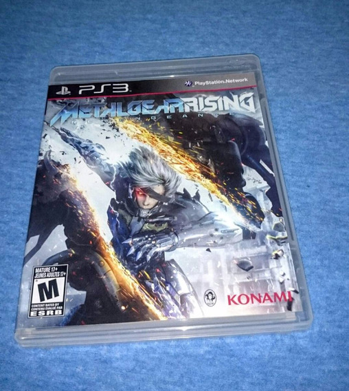 Metal Gear Rising Revengeance Ps3 M. Fisica Frete R$10