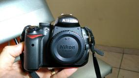 Câmera Nikon D5000 Corpo Com Visor Lcd Quebrado, Funcionando