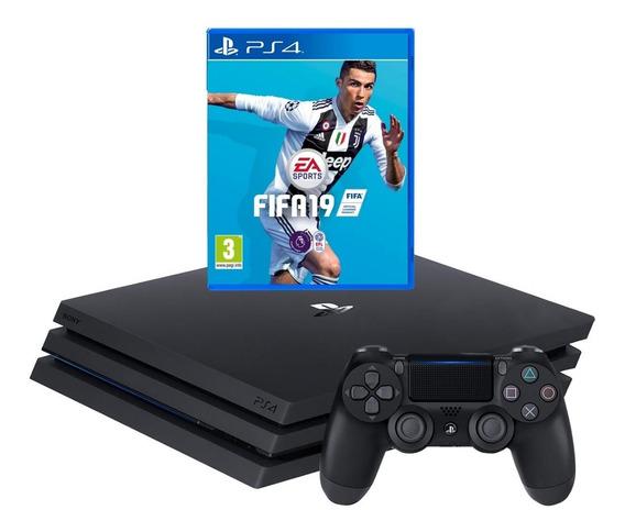 Ps4 Slim 1tb Sony + Jogo Fifa 19