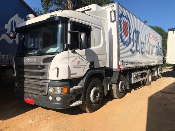 Scania P310 Bi-truck 8x2 Ano 2016 - Bau Frigorifico