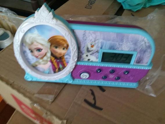 Reloj Despertador De Frozen Musical