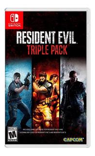 Resident Evil Triple Pack   Nintendo Switch   Físico   Nuevo