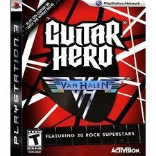 Guitar Hero Van Halen Req. Guitarra Ps3 ( Mídia Física )