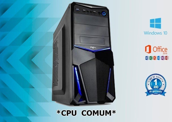 Cpu Core I3 / 16gb Ddr3 / Hd 320 / Dvd / Wifi / Nova