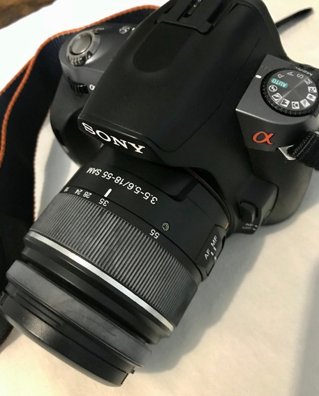 [barbada] Dslr Sony A290 + Lente 18:55mm + Acessórios
