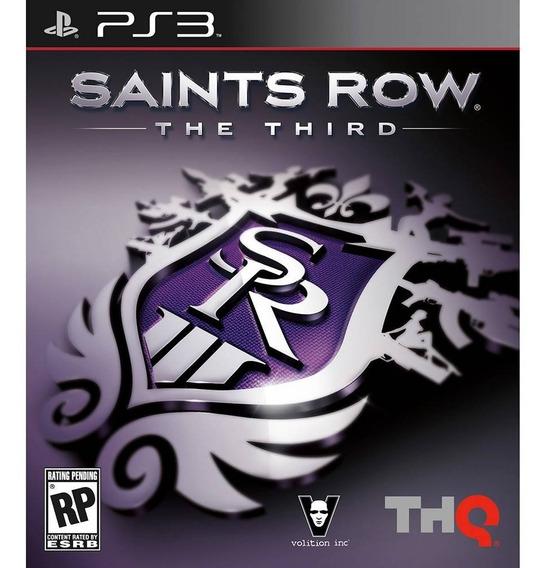 Saints Row The Third Ps3 Midia Fisica