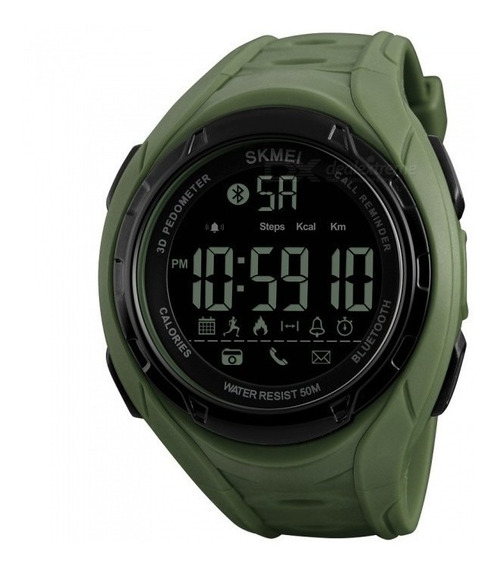 Reloj Skmei 1315 Resit Al Agua Cronometro Podometro Importad