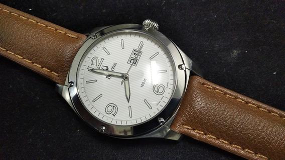 Relógio Bulova 63b60 Mov. A Quartz Suíço 44mm De Caixa
