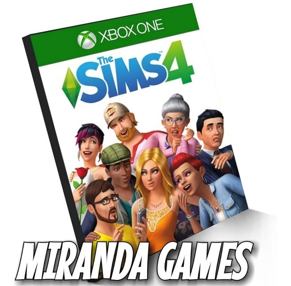 The Sims 4 Xbox One Midia Digital