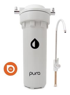 Purificador Agua Cocina Bajo Mesada Pura Arsénico Metales Pesados Cloro | Garantía Durable Por Vida Anmat