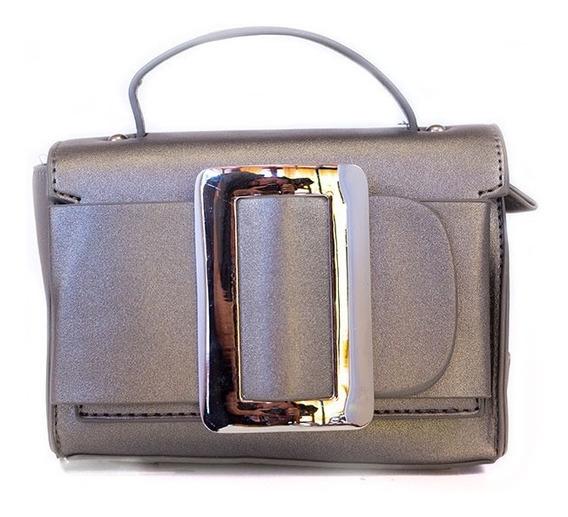 Morral Trendy Hebilla Peltre Metalizado 195921