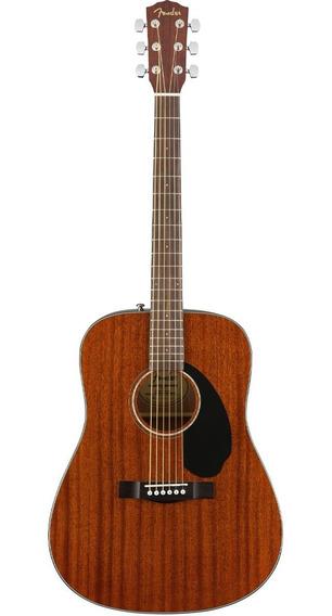 Guitarra Electrocústica Fender Cd-60s All-mahogany