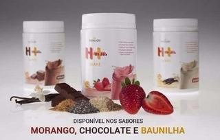 Shake H+ Hinode Whey Protein Morango 550g