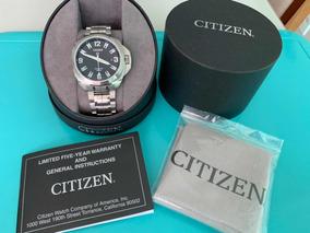 Relógio Citizen Automatic Wr 200 Safira Japan Mov