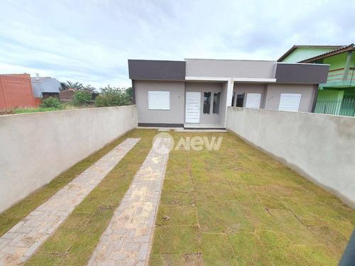 Casa Com 2 Dormitórios À Venda, 54 M² Por R$ 249.000,00 - Canudos - Novo Hamburgo/rs - Ca3705