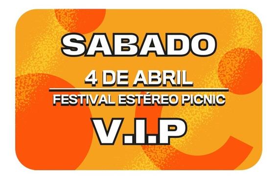 Boleta Vip Día Sábado Festival Estéreo Picnic 2020