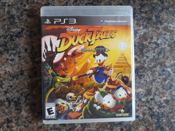 Ducktales Remasted Ps3 Mídia Física