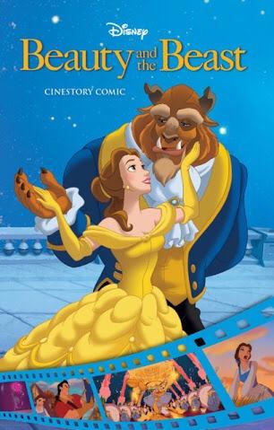 Disney La Bella Y La Bestia Cinestory Libro Comic