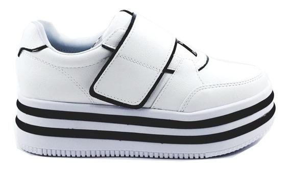 Zapatillas Mujer Urbanas Sneakers Plataforma Nk3 Savage