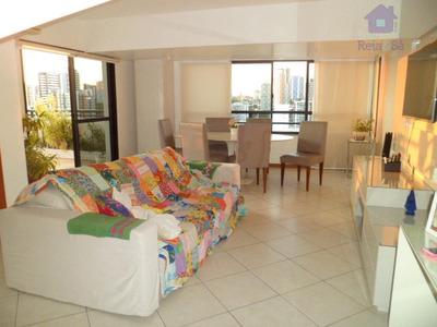 Cobertura Tres Quartos, Suíte, Duplex, 118m², 03 Garagens - Pituba - Co0069