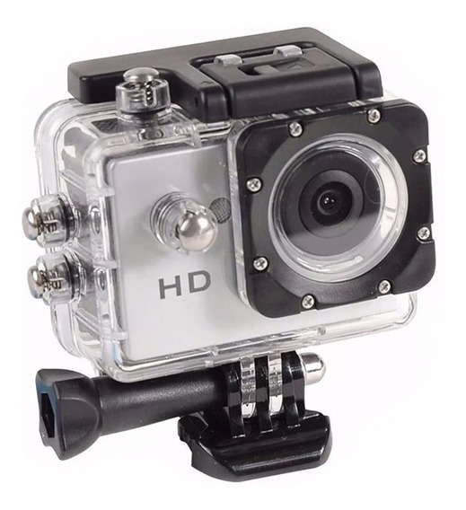 Câmera Filmadora 1080p Portátil Action Hd Sport Mergulho