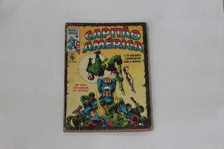 Hq Capitão America Marvel Especial N°9 Gibi Editora Abril