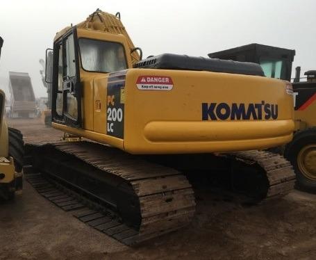 01) Excavadora Komatsu Pc200lc-6 Sistema Hidraulico 2004