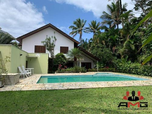 Casa Com 7 Dormitórios À Venda, 560 M² Por R$ 8.900.000,00 - Riviera - Módulo 5 - Bertioga/sp - Ca0580