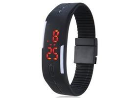 4 Relógio Pulseira Digital Led Academia,corrida,esporte