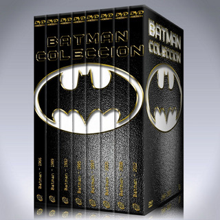 Batman Saga Completa 8 Películas Colección Dvd