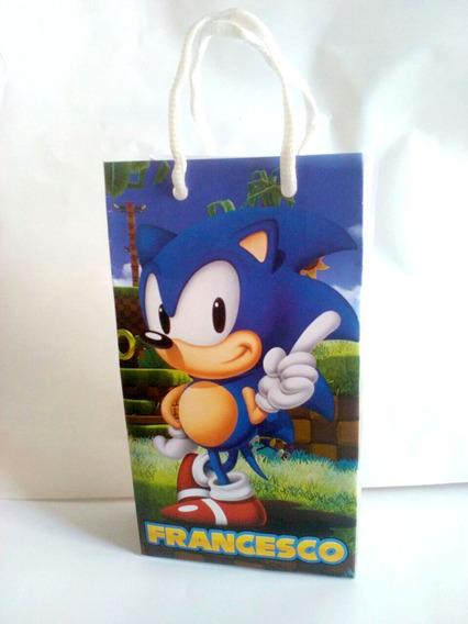 Sonic Vs Sonic Exe - Souvenirs para Cumpleaños Infantiles